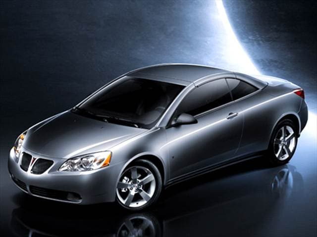 Most Fuel Efficient Convertibles of 2007 - 2007 Pontiac G6
