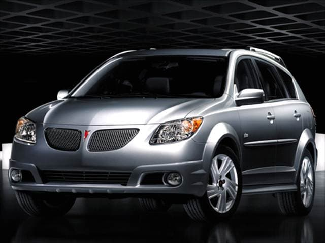 Most Popular Wagons of 2007 - 2007 Pontiac Vibe