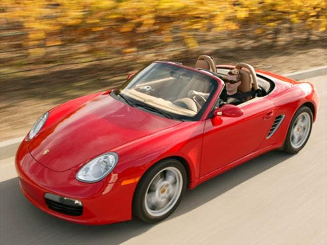 Most Fuel Efficient Convertibles of 2007 - 2007 Porsche Boxster