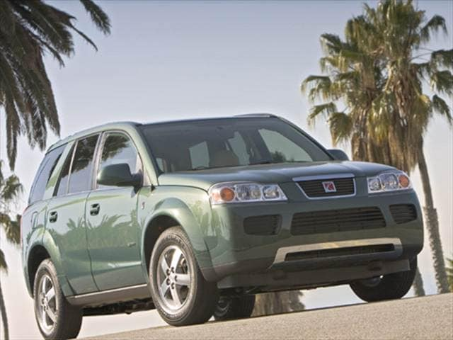 Most Popular Crossovers of 2007 - 2007 Saturn VUE