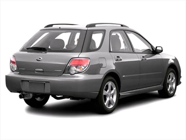 Top Consumer Rated Wagons of 2007 - 2007 Subaru Impreza