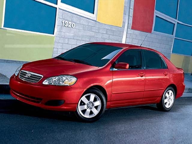 Most Fuel Efficient Sedans of 2007 - 2007 Toyota Corolla