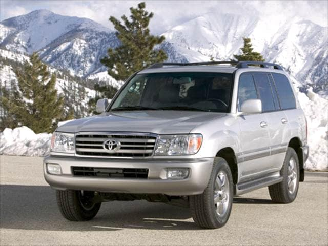 Top Consumer Rated SUVs of 2007 - 2007 Toyota Land Cruiser