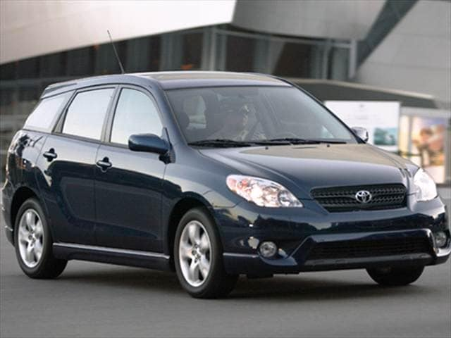Most Fuel Efficient Hatchbacks of 2007 - 2007 Toyota Matrix