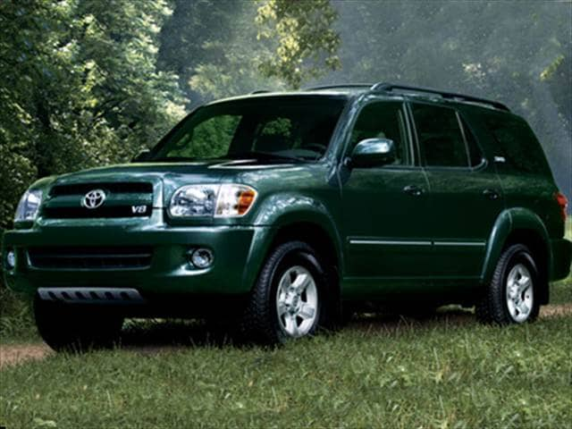 Top Consumer Rated SUVs of 2007 - 2007 Toyota Sequoia