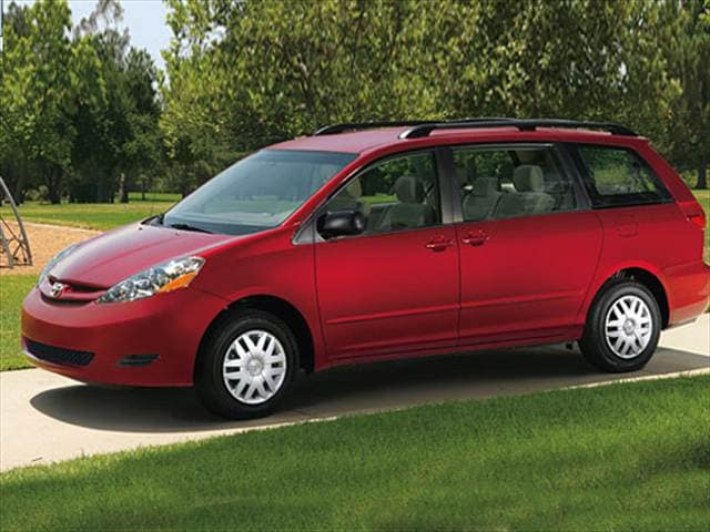 Most Fuel Efficient Vans/Minivans of 2007 - 2007 Toyota Sienna