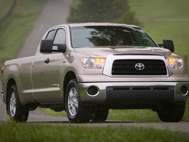 Highest Horsepower Trucks of 2007 - 2007 Toyota Tundra Double Cab