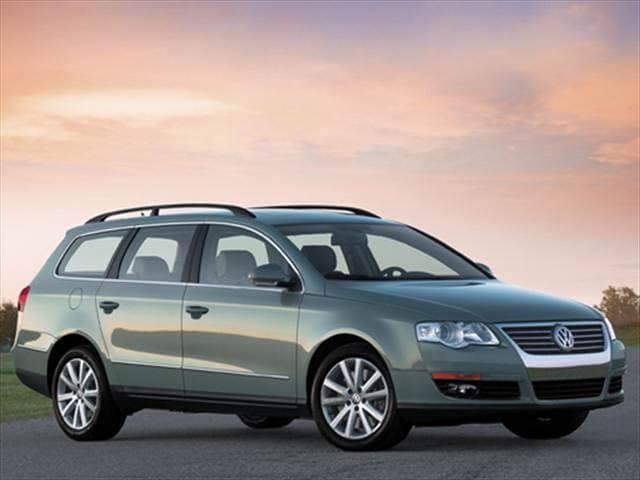 Highest Horsepower Wagons of 2007 - 2007 Volkswagen Passat