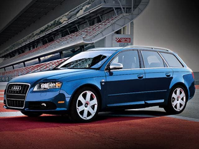 Highest Horsepower Wagons of 2008 - 2008 Audi S4