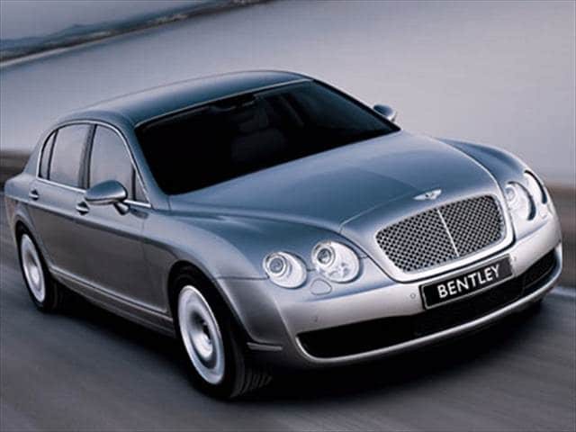 Top Consumer Rated Sedans of 2008 - 2008 Bentley Continental