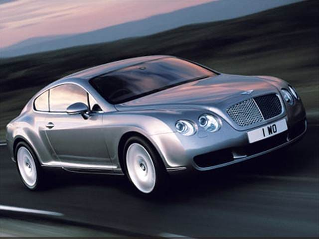 Top Consumer Rated Coupes of 2008 - 2008 Bentley Continental