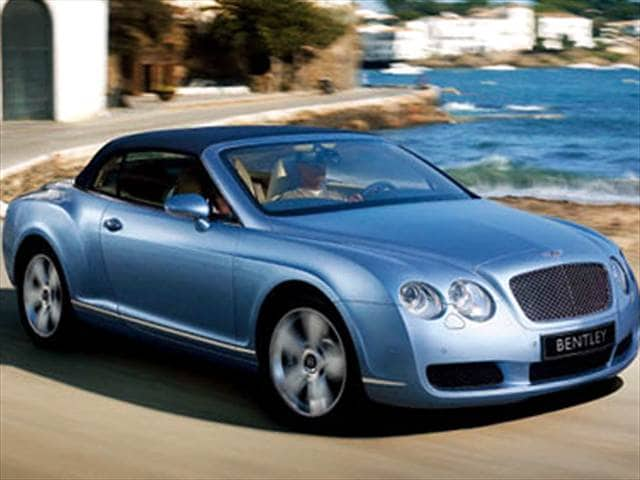 Highest Horsepower Convertibles of 2008 - 2008 Bentley Continental