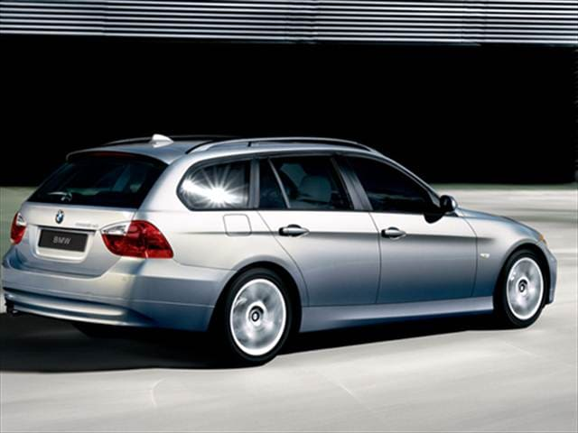 Most Popular Wagons of 2008 - 2008 BMW 3 Series