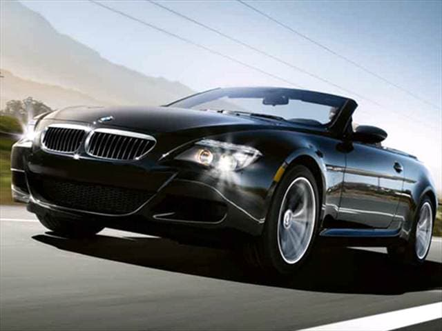 Highest Horsepower Convertibles of 2008 - 2008 BMW M6