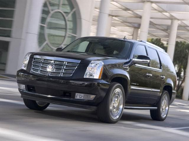 Highest Horsepower SUVs of 2008 - 2008 Cadillac Escalade ESV