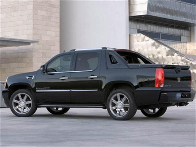 Highest Horsepower SUVs of 2008 - 2008 Cadillac Escalade EXT