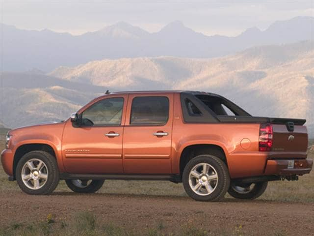 Top Consumer Rated SUVs of 2008 - 2008 Chevrolet Avalanche