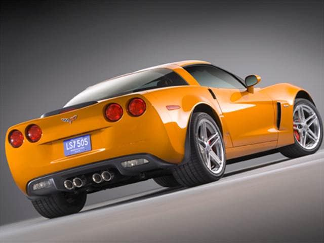 Most Popular Coupes of 2008 - 2008 Chevrolet Corvette