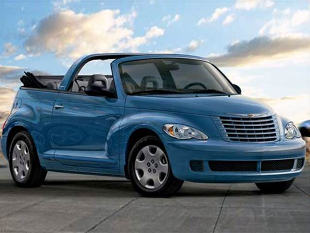 Most Popular Convertibles of 2008 - 2008 Chrysler PT Cruiser