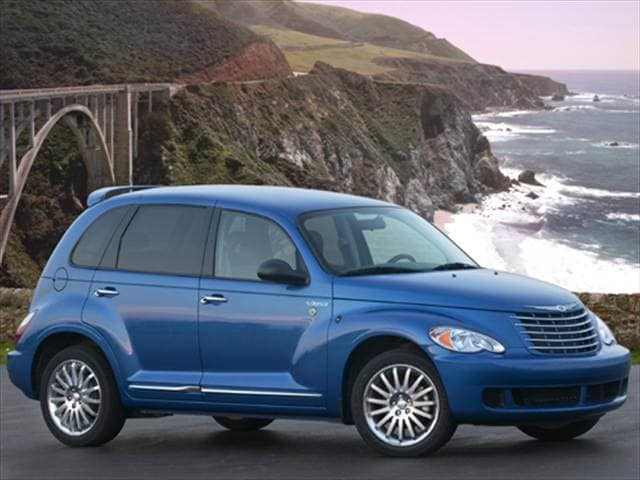 Most Popular Wagons of 2008 - 2008 Chrysler PT Cruiser