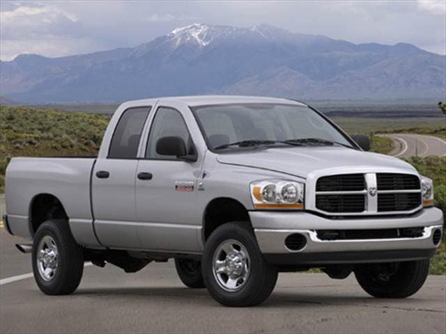 Most Popular Trucks of 2008 - 2008 Dodge Ram 1500 Quad Cab