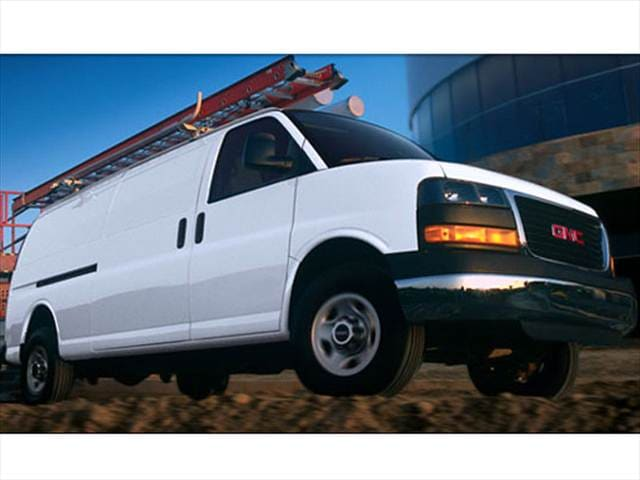 Top Consumer Rated Vans/Minivans of 2008 - 2008 GMC Savana 1500 Cargo
