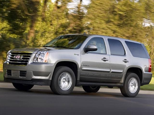 Top Consumer Rated Hybrids of 2008 - 2008 GMC Yukon