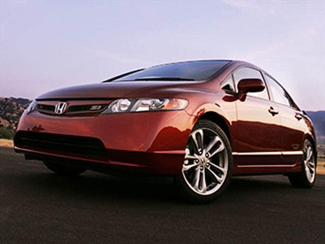 Auto Loans Calculator >> 2008 Honda Civic Si Sedan 4D Used Car Prices   Kelley Blue ...