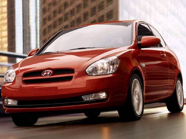 Most Fuel Efficient Hatchbacks of 2008 - 2008 Hyundai Accent