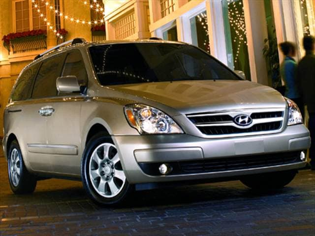 Top Consumer Rated Vans/Minivans of 2008 - 2008 Hyundai Entourage