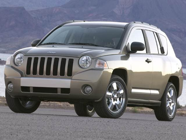 Most Fuel Efficient Crossovers of 2008 - 2008 Jeep Compass