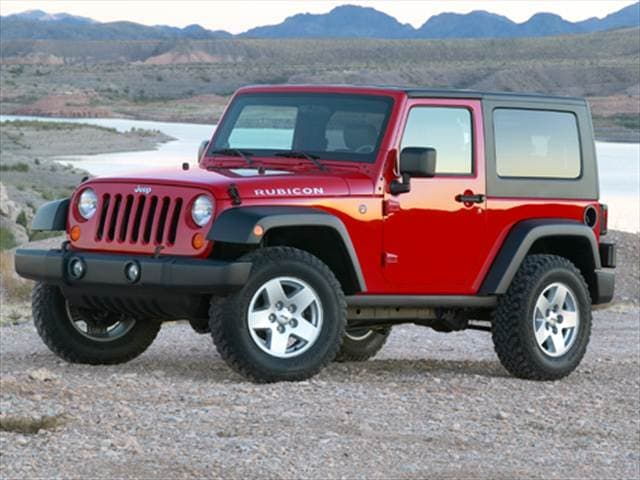 Most Popular SUVs of 2008 - 2008 Jeep Wrangler