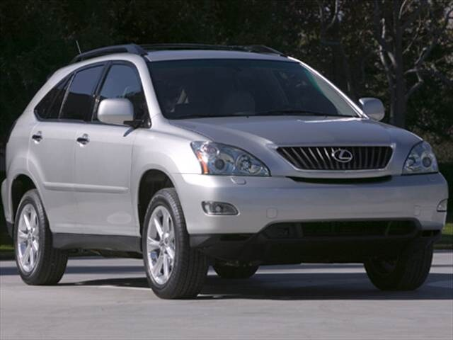 Most Popular Luxury Vehicles of 2008 - 2008 Lexus RX