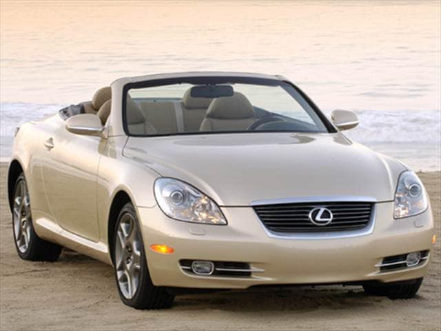 Top Consumer Rated Luxury Vehicles of 2008 - 2008 Lexus SC