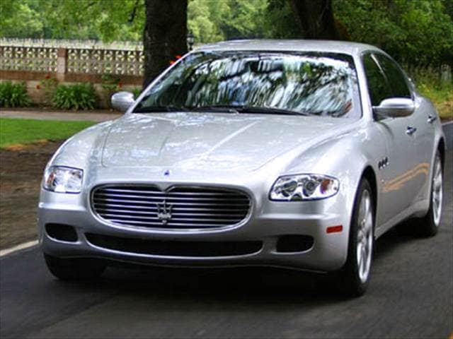 Top Consumer Rated Luxury Vehicles of 2008 - 2008 Maserati Quattroporte