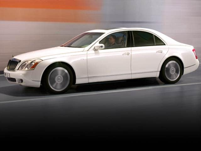 Highest Horsepower Sedans of 2008 - 2008 Maybach 57