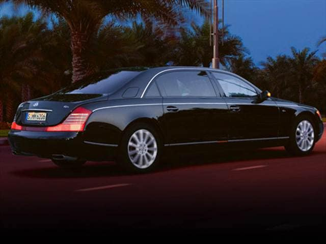 Highest Horsepower Luxury Vehicles of 2008 - 2008 Maybach 62