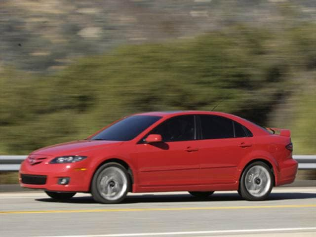 Most Popular Hatchbacks of 2008 - 2008 Mazda MAZDA6