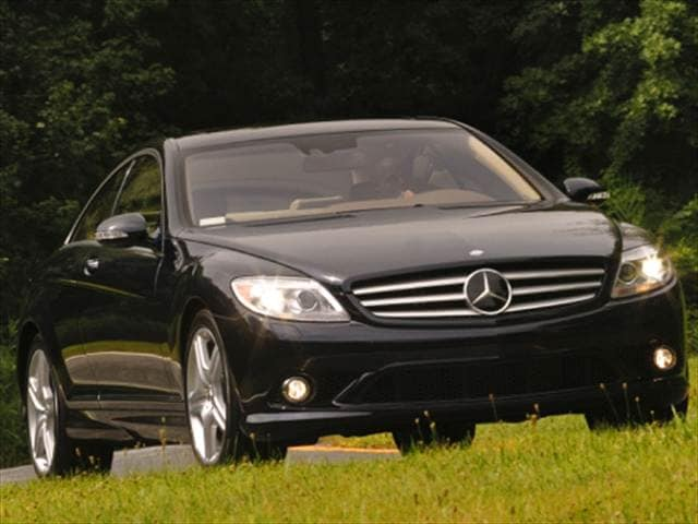 Highest Horsepower Coupes of 2008 - 2008 Mercedes-Benz CL-Class