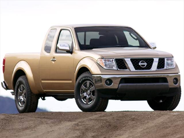 Most Fuel Efficient Trucks of 2008 - 2008 Nissan Frontier King Cab