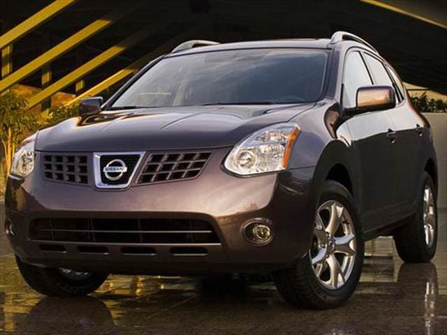 Most Fuel Efficient Crossovers of 2008 - 2008 Nissan Rogue