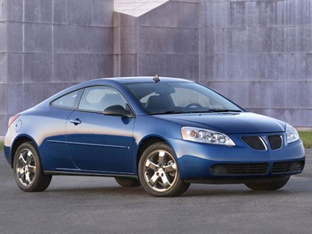 Most Popular Coupes of 2008 - 2008 Pontiac G6
