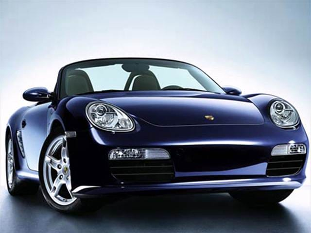 Most Fuel Efficient Convertibles of 2008 - 2008 Porsche Boxster