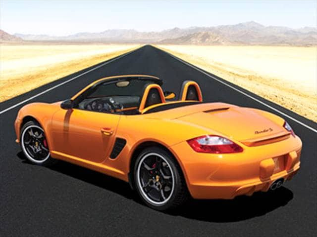 Top Consumer Rated Convertibles of 2008 - 2008 Porsche Boxster