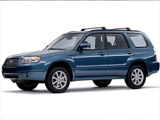 Most Fuel Efficient Crossovers of 2008 - 2008 Subaru Forester