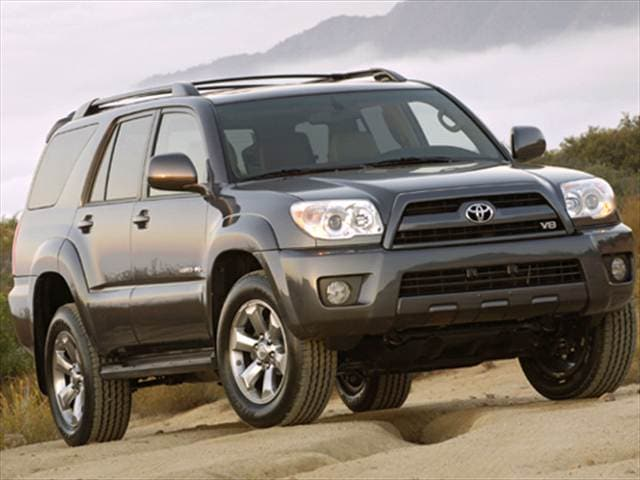 Top Consumer Rated SUVs of 2008 - 2008 Toyota 4Runner