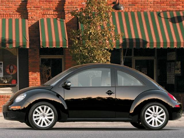 Most Popular Coupes of 2008 - 2008 Volkswagen New Beetle