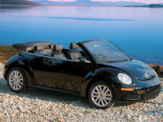 Most Popular Convertibles of 2008 - 2008 Volkswagen New Beetle