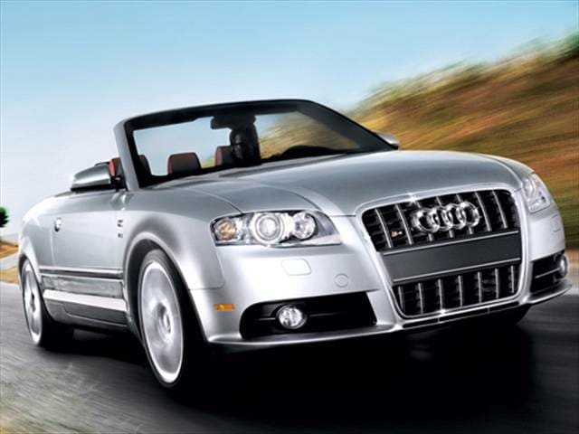 Top Consumer Rated Convertibles of 2009 - 2009 Audi S4