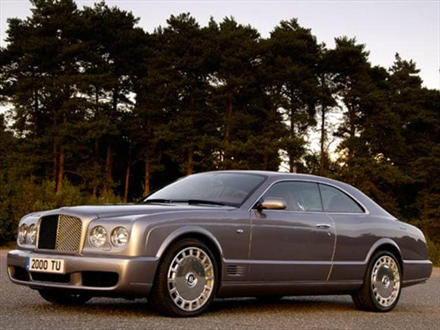 Highest Horsepower Coupes of 2009 - 2009 Bentley Brooklands